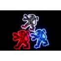 Светодиодная подсветка эмблемы Peugeot