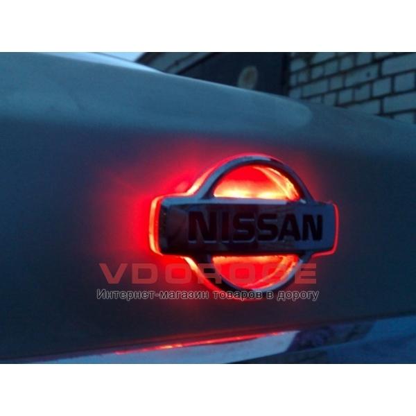 Светодиодная подсветка эмблемы Nissan. Купить Светодиодная подсветка эмблемы Nissan в интернет-магазине. Цена, доставка Светодио