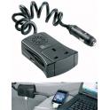 Инвертор 12В, 120Вт с USB