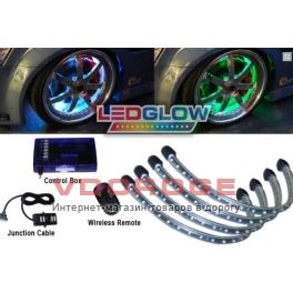 Cветодиодная подсветка дисков LEDGlow LU-W07 White