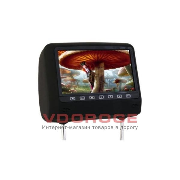 Подголовники с монитором и DVD-проигрывателем nTray 950hdb (черный) 1 шт