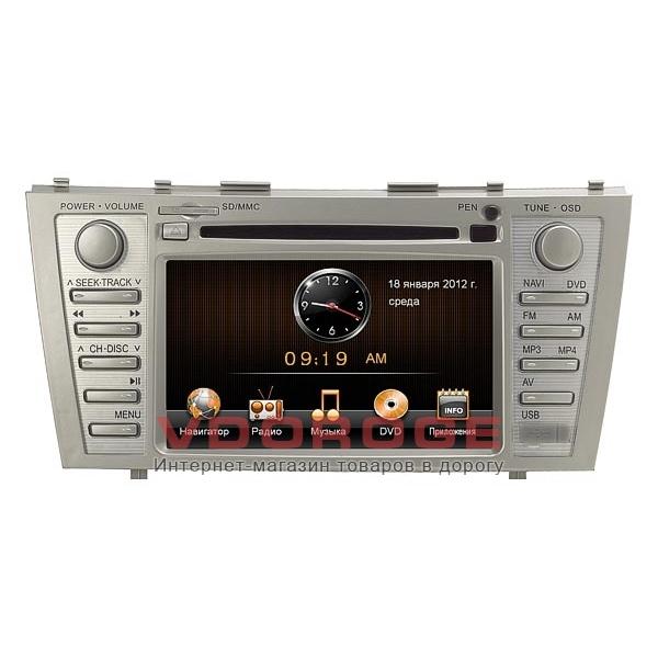 Штатная автомагнитола RoadRover SRT Toyota Camry 2006–2011