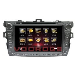 Штатная автомагнитола Globex GU8013 для Toyota Corolla