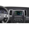 Головное мультимедийное устройство Jeep High 2007+, Jeep Low 2007+, Dodge Caliber, Jeep Compas