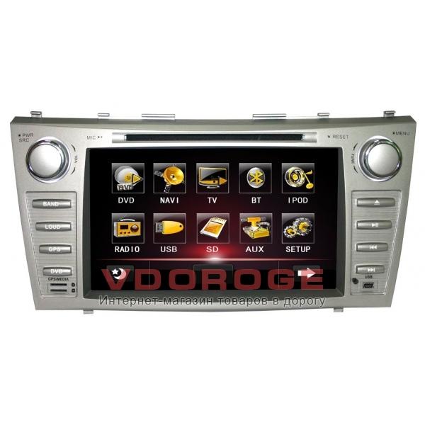 Штатная автомагнитола Globex GU8012 Toyota CAMRY (V40)