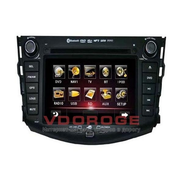 Штатная автомагнитола Globex GU7013 Toyota Rav4