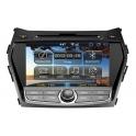 Штатная автомагнитола SRTi на системе Android для автомобиля  Hyundai Santa Fe 2013+