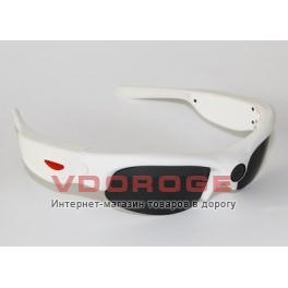 Очки со встроенной видеокамерой Camsports Coach White