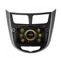 Штатное головное устройство RedPower 12067 для Hyundai Accent RB, HB