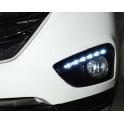 Штатные дневные ходовые огни DRL для  Hyundai IX 35