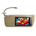 Автомобильный мини-телевизор для козырька Luxury 7010