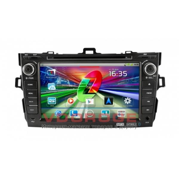 Штатная магнитола Gazer CM182-150 на системе Android для  Toyota Corolla 150