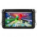 Штатная магнитола Gazer CM182-1K5 на системе Android для VW/Skoda/Seat
