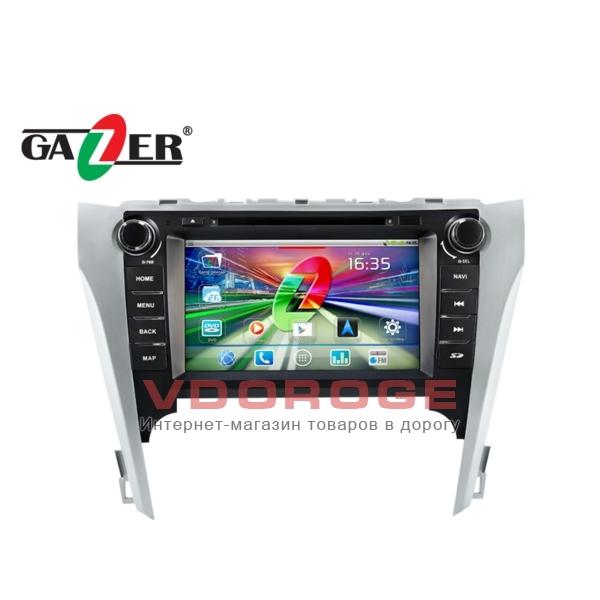 Штатная магнитола Gazer CM182-V50 на системе Android для  Toyota Camry V50
