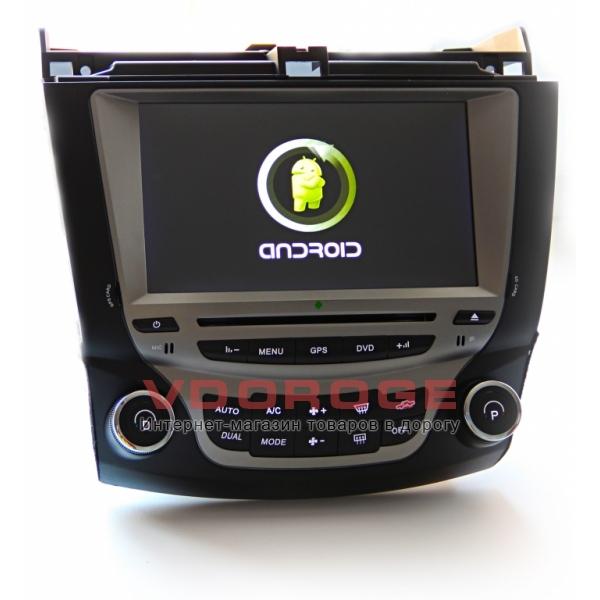 Штатная магнитола для Honda ACCORD 7 (2003-2007) Android 4.0