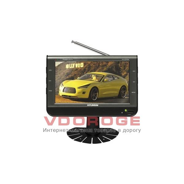 Автомобильный телевизор Hyundai H-LCD704